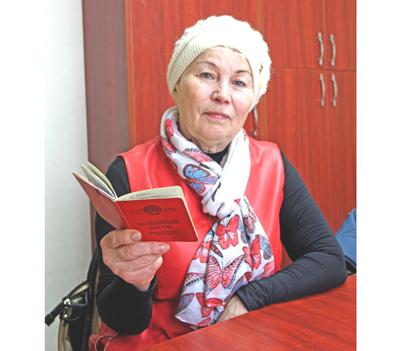 Галина Туровская служила медсестрой во время войны в Афганистане
