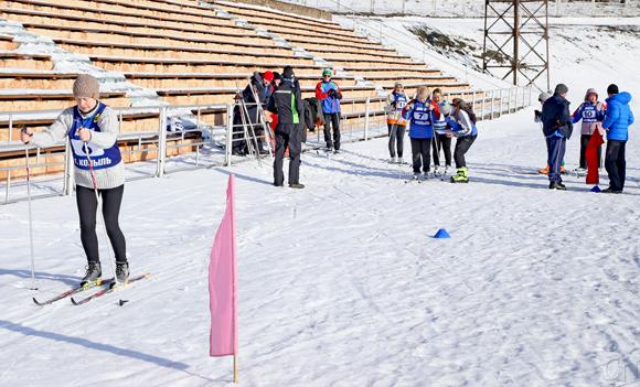 ■ На лыжне — Ирина Степуро