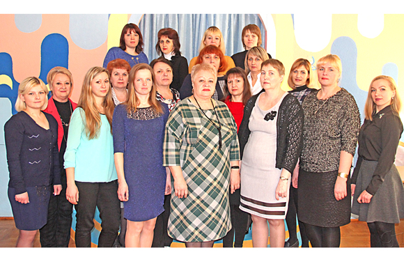 Коллектив дошкольного центра развития ребенка «Солнышко» г. Копыля — единая педагогическая команда