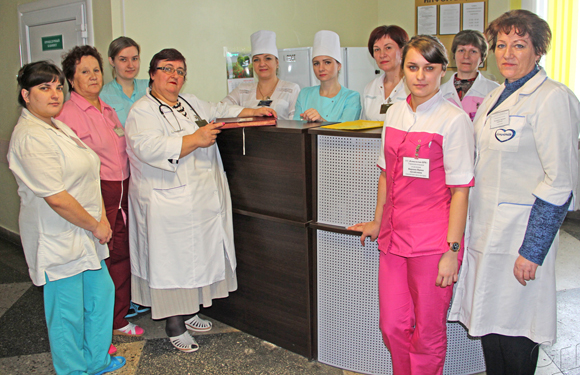 Основными принципами работы терапевтического отделения Копыльской ЦРБ — доброта и милосердие