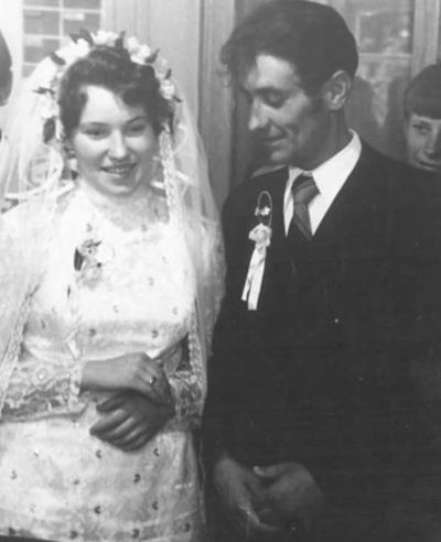 ■ Шчаслівы момант шлюбу 22 чэрвеня 1974 года