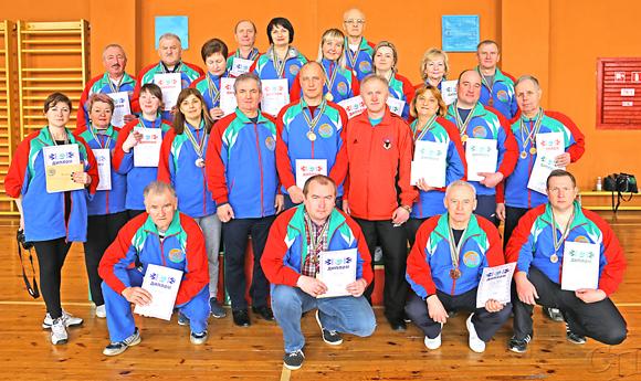 В Копыле прошла спартакиада среди работников аппарата Минского областного и районных комитетов профсоюза работников АПК