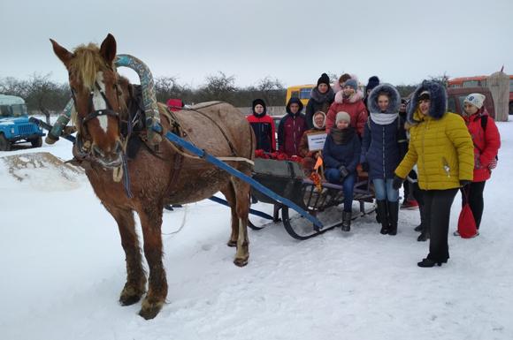 В Копыльском государственном колледже прошел спортивный праздник «Зимние старты»