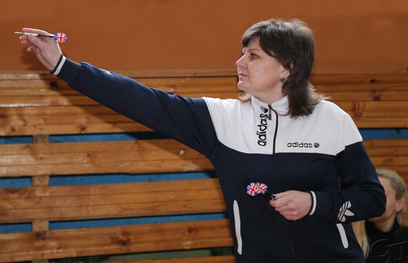 ■ У Светланы Горбач - первое место в дартсе среди женщин