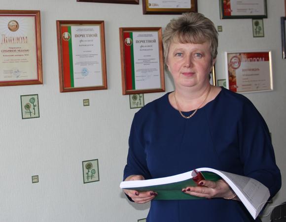 Директор Копыльского кооппрома Тамара Абрамович двигается вперед и никогда не останавливается