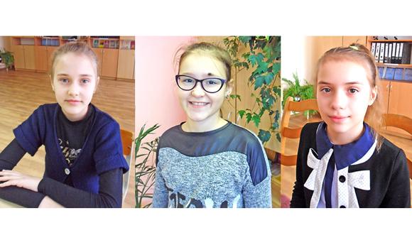 О своих мамах и бабушках рассказывают ученицы 5 «А» класса СШ № 3 г. Копыля — юнкоры «Слава працы»