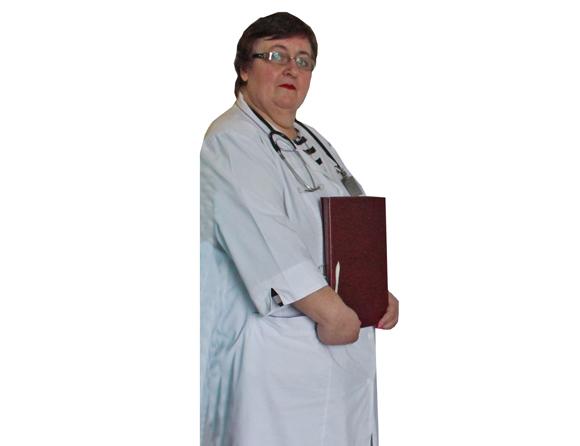 Заведующий терапевтическим отделением Копыльской ЦРБ Оксана Минченя — врач по профессии и по призванию
