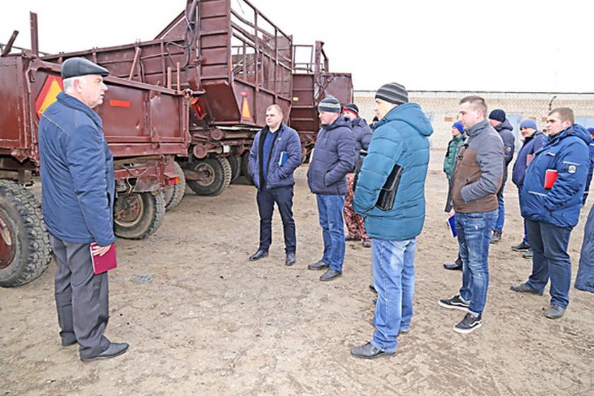 В сельхозпредприятиях Копыльщины заканчивается подготовка к посевной-2019