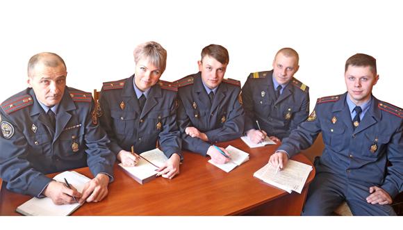 Сотрудники отделения ГАИ Копыльского РОВД всегда стоят на страже соблюдения закона