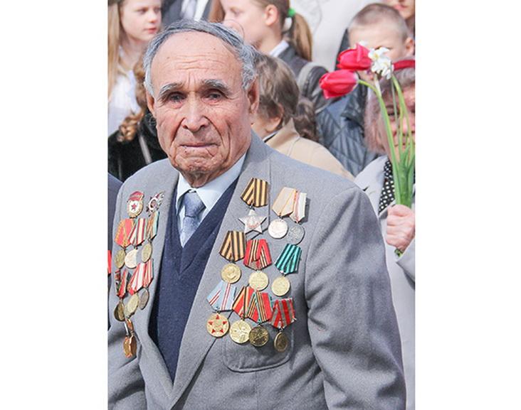 Ветеран Великой Отечественной войны Николай Георгиевич Киселев уже более полувека живет в Копыле, который стал для него второй родиной