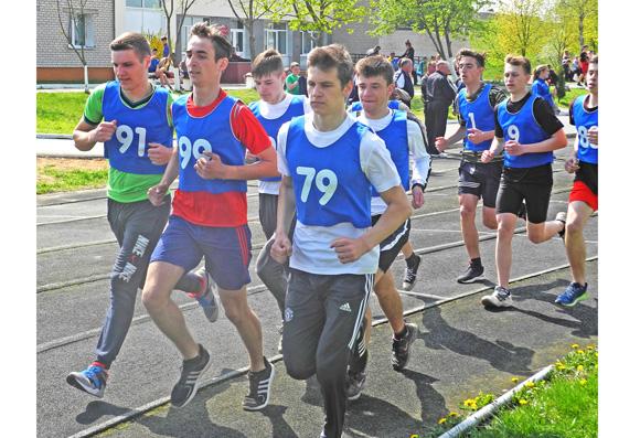 В Копыле состоялся весенний легкоатлетический кросс среди учащихся учреждений общего среднего образования