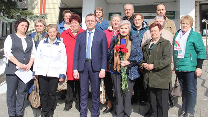 Для активистов районного Совета ветеранов была организована экскурсия по Копыльщине
