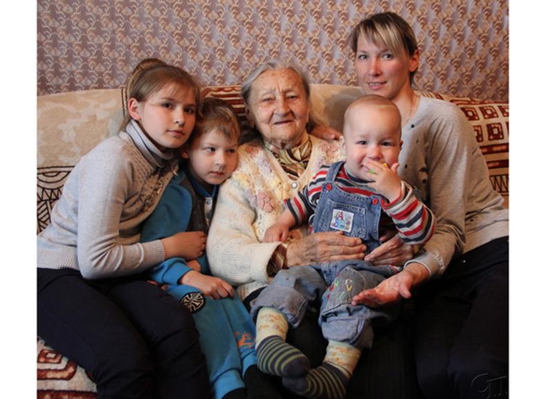 93-х летняя Ядвига Антоновна Ермолович: «Счастье, когда рядом родные люди»