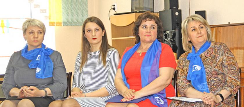 ■ Светлана Малиновская, Мария Дичковская, Любовь Кот и Наталья Демидчик