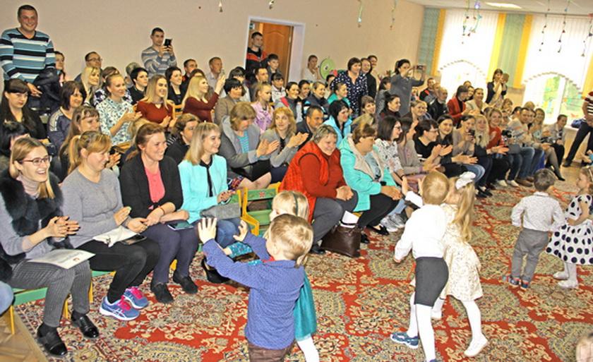 Родительское собрание, приуроченное к Международному дню семьи, состоялось в санаторном яслях-саду г. Копыля
