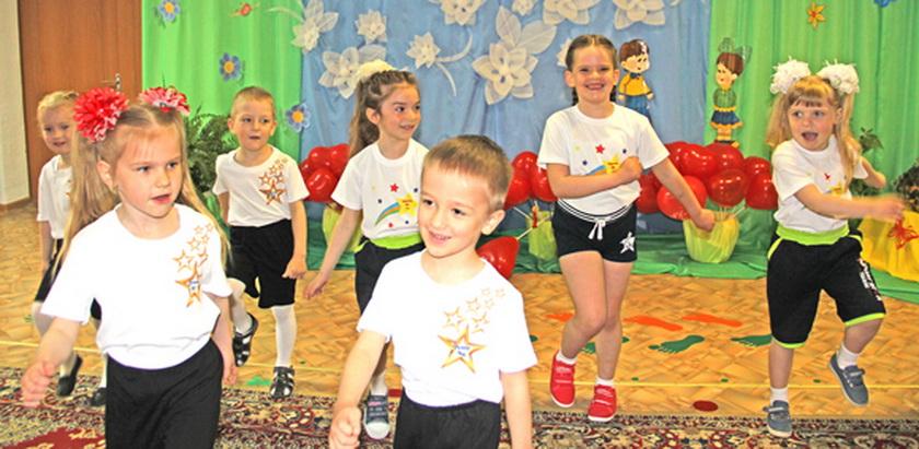 ■ Воспитанники сада радовали своих родителей и воспитателей танцевальными номерами
