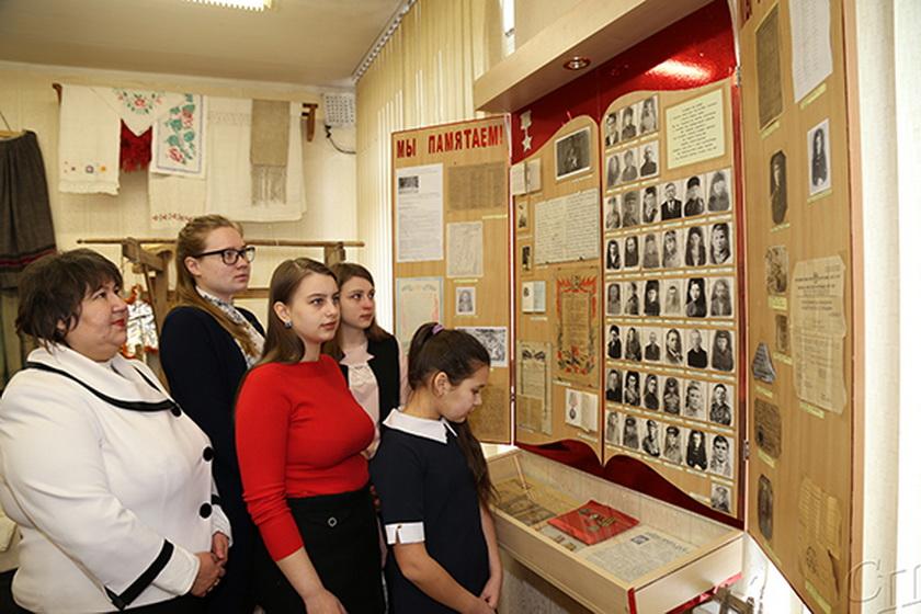 В историко-краеведческом музее Каменского УПК большое внимание отводится событиям Великой Отечественной войны