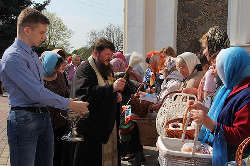 Православные жители Копыльщины отметили Пасху