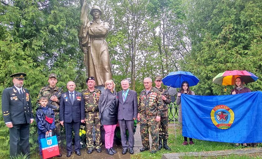 Через Копыльщину прошел автомотопробег в честь республиканской акции «Сердцем прикоснись к подвигу»