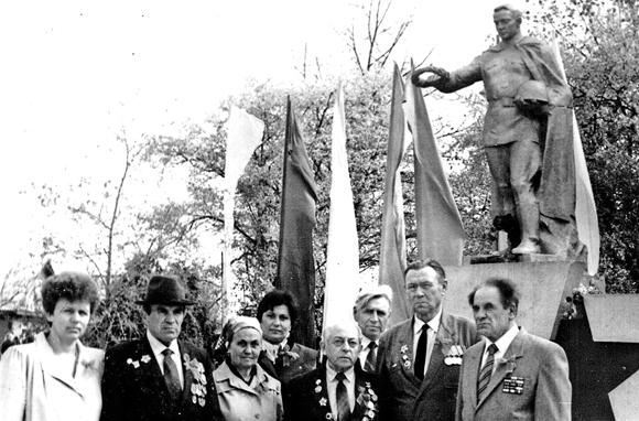 ■ Встреча в Копыле с семьей Бонтарь О.Ф. 1988 год
