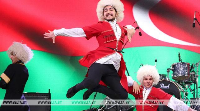 День культуры и традиций Азербайджана прошел на одной из фан-зон II Европейских игр