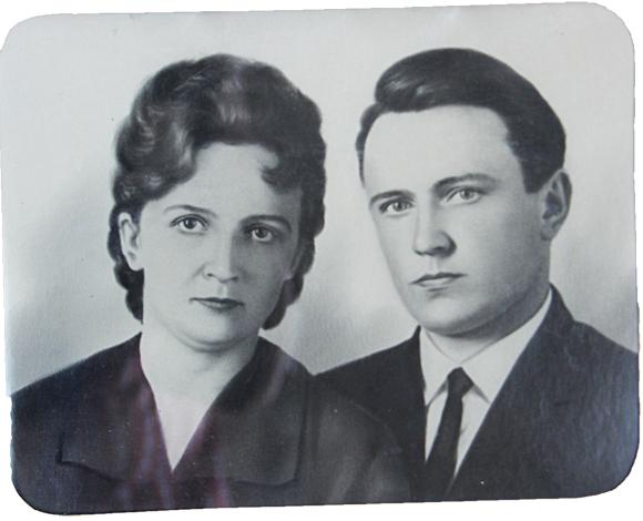 ■ Валянціна і Віктар. Пачатак 60-х гадоў ХХ стагоддзя