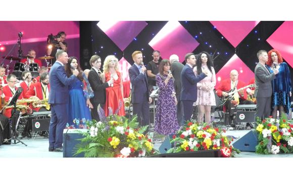 В Молодечно прошел ХIХ Национальный фестиваль белорусской песни и поэзии