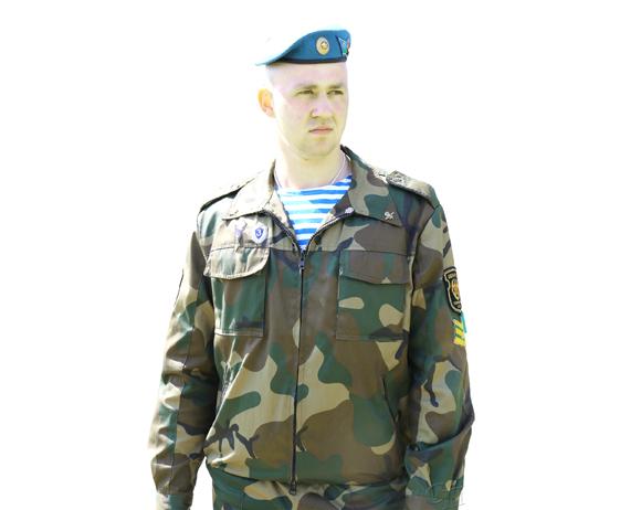 Уроженец д. Смоличи Александр Сергиеня: служить в спецназе мечтал с детства