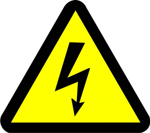 На полях помните об электробезопасности