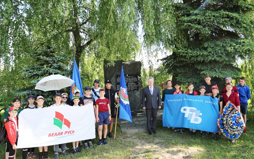 В Копыльском районе состоялся велопробег в рамках 75-летия освобождения Беларуси