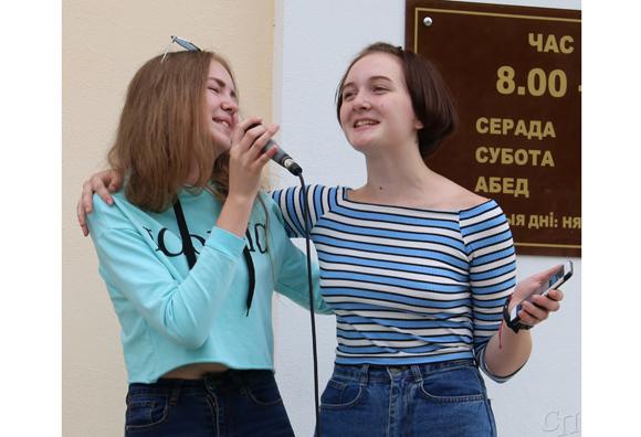 ■ Выступают Анастасия Янушко и Анастасия Войтик