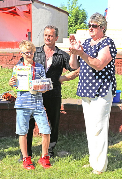 ■ Победители - семья Тарбецких