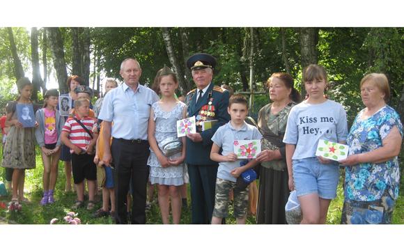 В рамках акции «Беларусь помнит» на Копыльщине прошел автопробег по местам боевой славы района