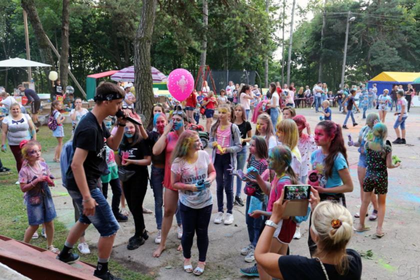 Туристический слет и День молодежи провели в Копыле накануне Дня Независимости